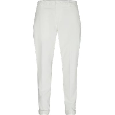 Regular fit | Trousers | White